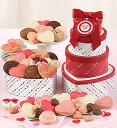 Valentine39s Day Traditions Gift Tower