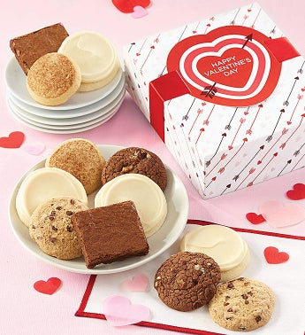 Gluten Free Valentine Cookie Box