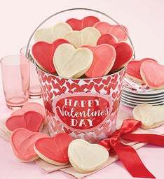 Happy Valentine39s Day Cut out Gift Pail