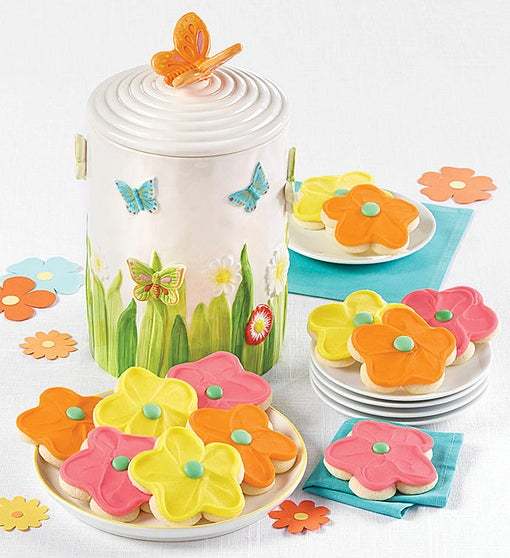Collector's Edition Butterfly Cookie Jar