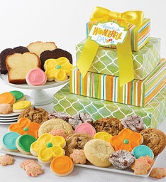 Have a Wonderful Day Bakery Gift Tower