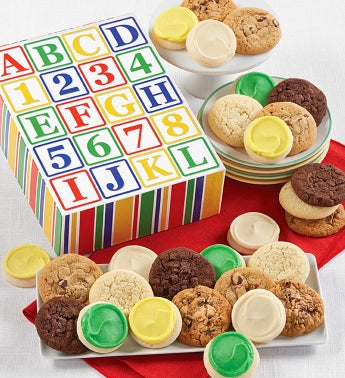 Alphabet Cookie Gift Box