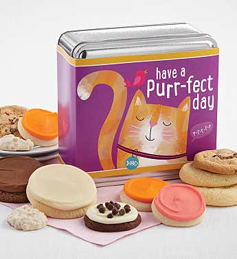 Have a Purrfect Day Treats Gift Tin
