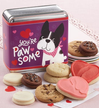 Youre Pawsome Valentines Day Mini Gift Tins