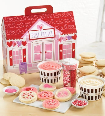 Cheryls Valentines Day Cutout Cookie Decorating Kit