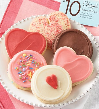 Valentines Day Cookie Sampler