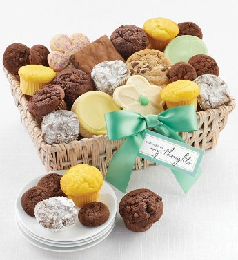Youre in My Thoughts Gift Basket Small