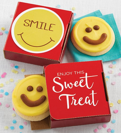 Smile Cookie Card