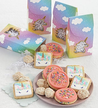 Unicorn Party Favors Set of 4