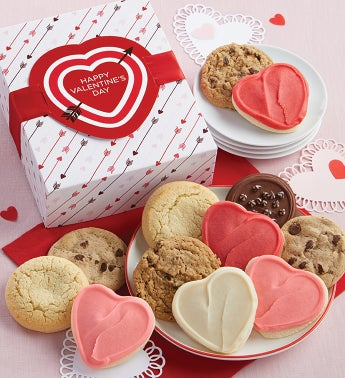 Valentines Day Cookie Gift Box