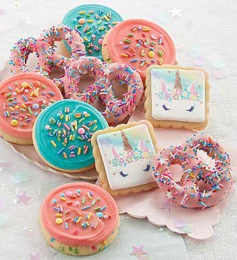 Have a Magical Day Pretzels and Buttercream Frosted Cookies