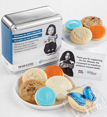 Nationwide Childrens On Our Sleeves Cookie Tin