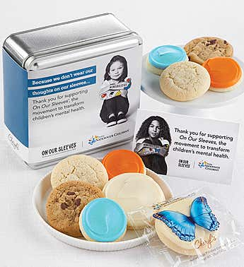 Nationwide Childrens On Our Sleeves™ Cookie Tin