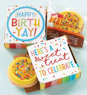 Birth-yay Cookie Cards  Cases of 24 or 48