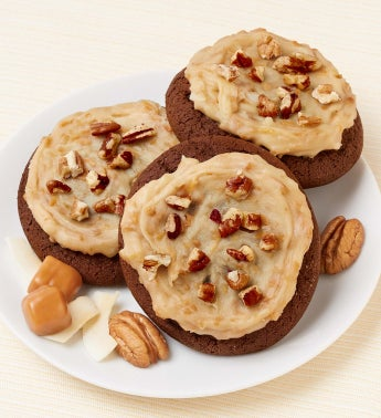 German Chocolate Pecan Cookies