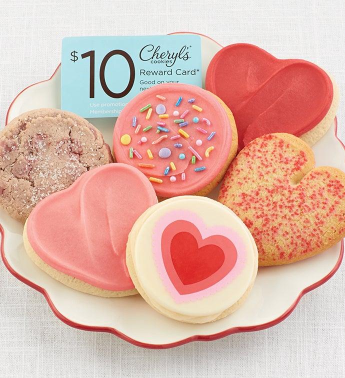 Valentines Day Cookie Sampler
