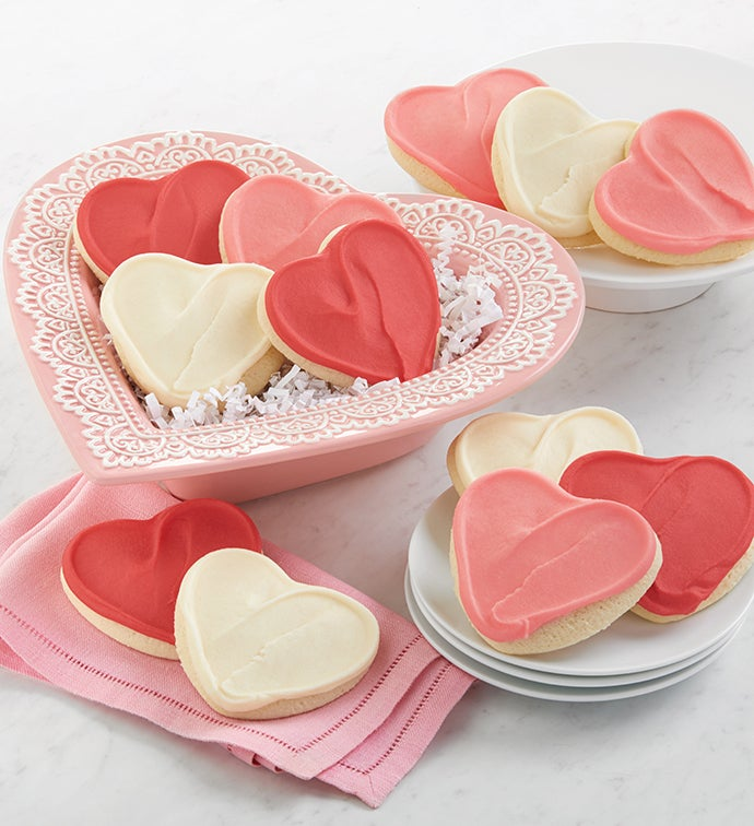 Collectors Edition Ceramic Valentine Candy Dish