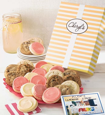 Alex39s Lemonade Stand Cookie Gift Boxes