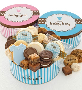 Sweet Baby Treats Gift Tin