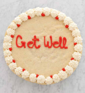 Get Well Sugar Cookie