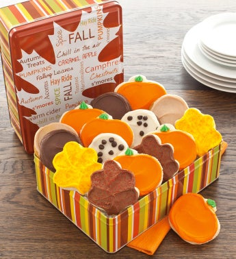 Autumn Gift Tin Frosted Assortment