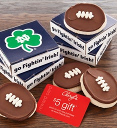 Notre Dame Football Cookie & Gift Card