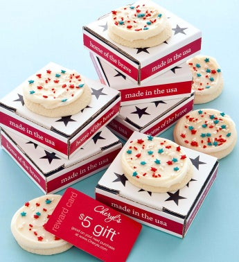 Patriotic Cookie & Gift Card
