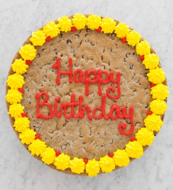 Birthday Chocolate Chip Cookie