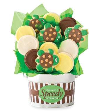 Speedy Recovery Cookie Flower Pot