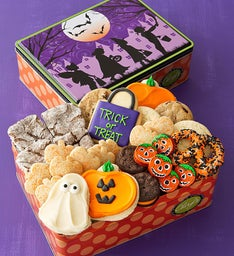 Trick or Treat Tin - Treats Assortment