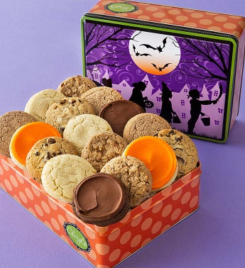 Trick or Treat Tin - 16 Sugar Free Cookies