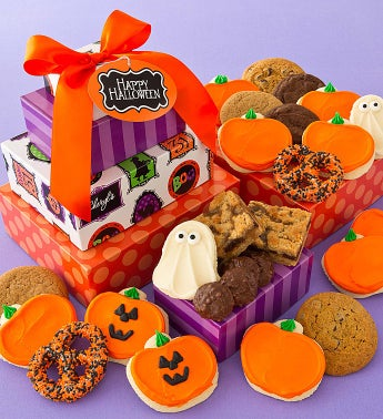 Halloween Gift Tower