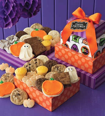 Halloween Bakery Gift Tower