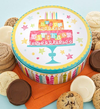 Musical Birthday Tin - Sugar Free