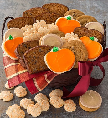 Pumpkin Lovers Basket