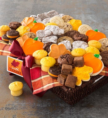Large Fall Bakery Basket