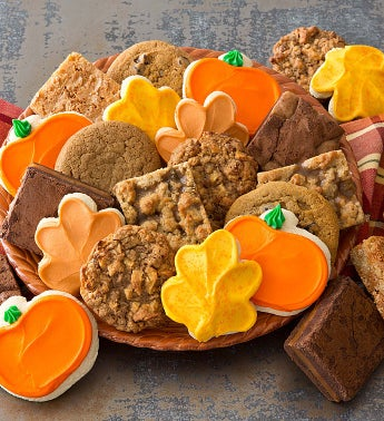 Autumn Cookies and Brownies