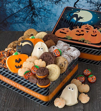 Grand Halloween Gift Tin - Treats