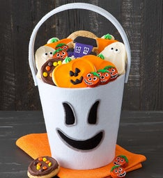 Halloween Trick or Treat Tote - Ghost