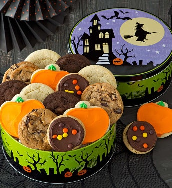 Halloween Haunted House Gift Tin - Create Your Own