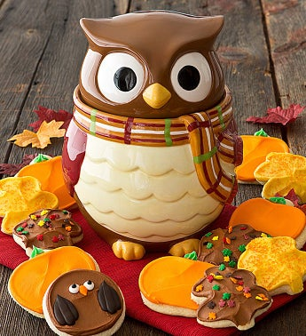 Collector's Edition Owl Cookie Jar