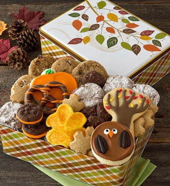 Thanksgiving Treats Gift Tin