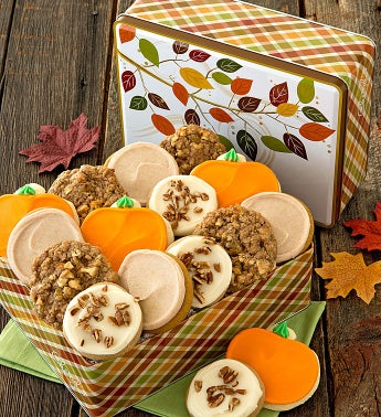 Thanksgiving Treats Gift Tin - Create Your Own
