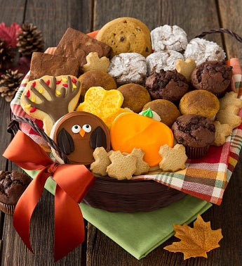 Thanksgiving Snack Basket - Medium