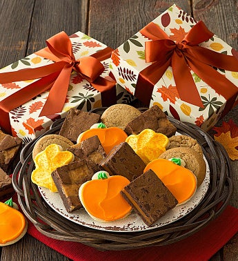 Thanksgiving Gift Boxes - Cookies and Brownies
