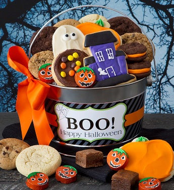 Halloween Buttercream Treats Pail
