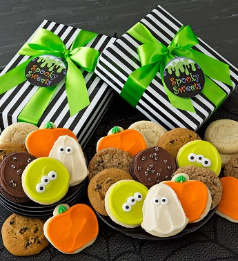 Halloween Gift Boxes - Assorted Cookies