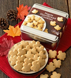 Maple Shortbread Gift Tin