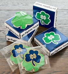 Notre Dame Cookie Card