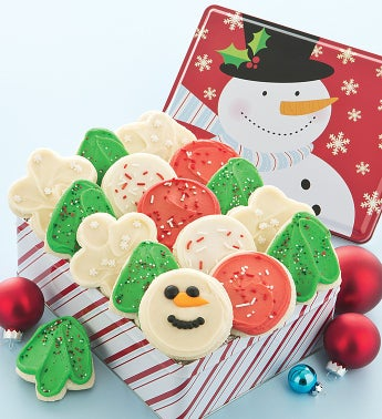 Sweet Holiday Cheer Gift Tin - 16 Cutouts